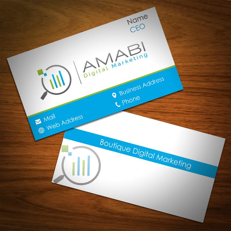 Serious modern marketing business card design for botjan koec business card design by abikasirajan for botjan koec sp amabi design 4948259 reheart Images