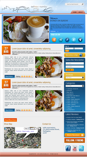 Wordpress Design Contest Submission #241564