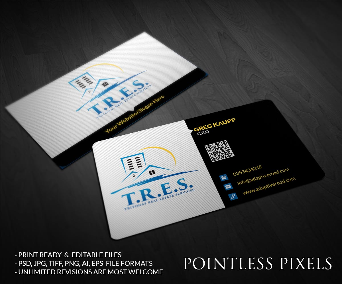Upmarket Professional Business Business Card Design For A Company