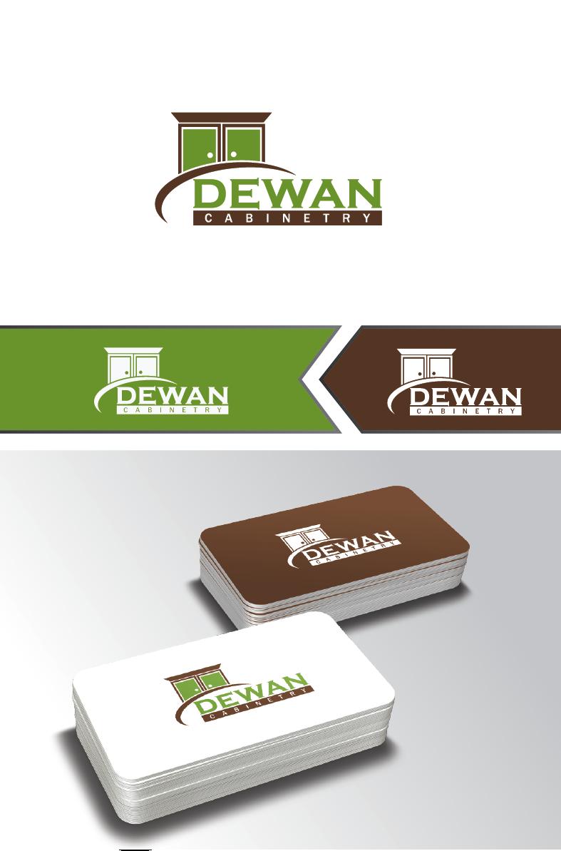 Logo Design for Dewan Cabinetry by Graphix Lab   Design #4954092