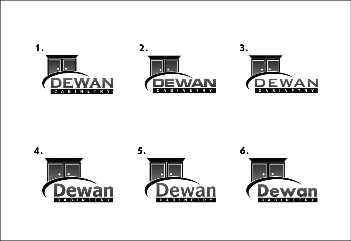 Logo Design for Dewan Cabinetry by Graphix Lab   Design #5014990