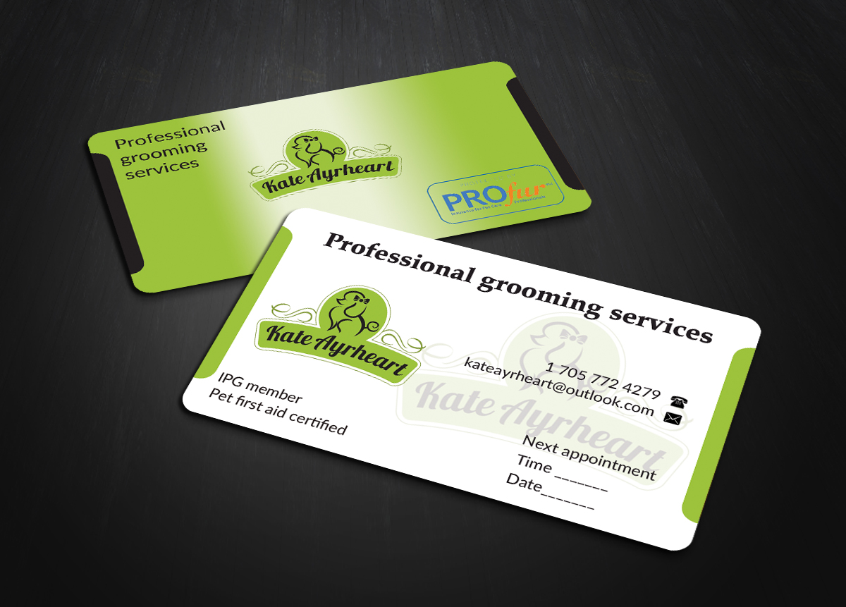 Elegant, Professional Business Card Design for Kate by ...