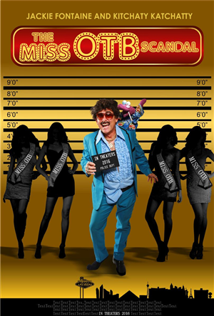 Poster Design by S.S. Mulla - The Miss OTB Scandal