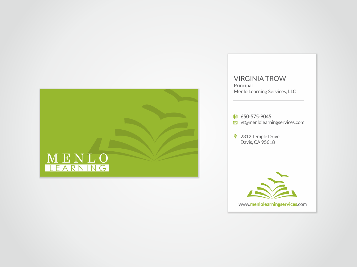Stationery Design Job Stationery Brief For Menlo Learning A