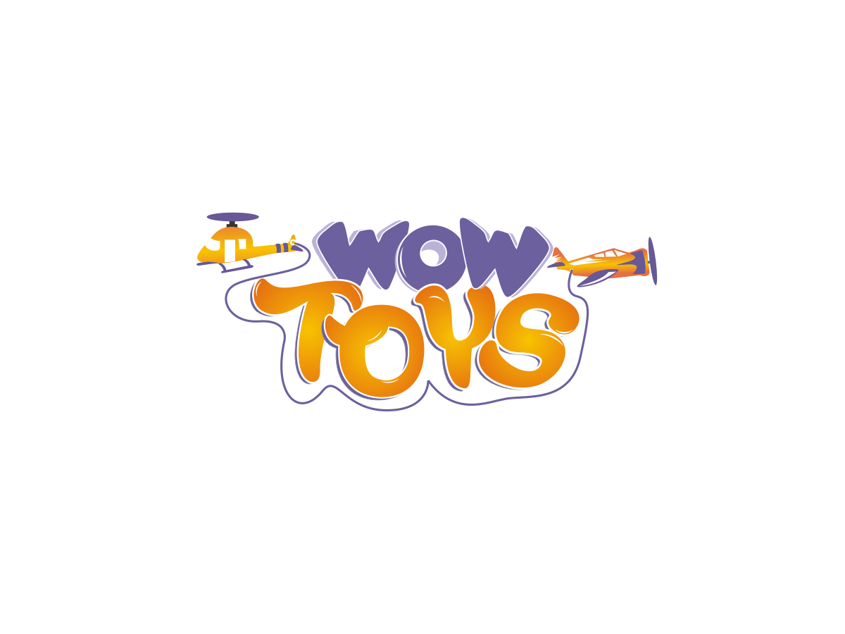 Toy Store Logo : Logo design for wow toys by blueberry