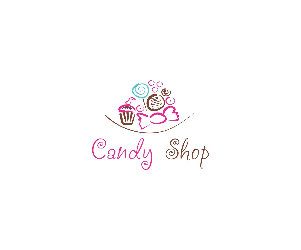 shop logo design for candy shop by mandarina design 4927569