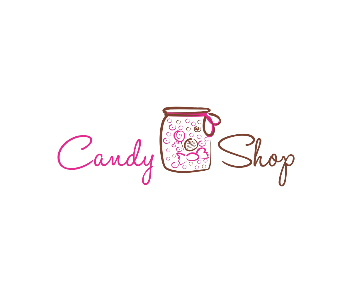 shop logo design for candy shop by mandarina design 4927570
