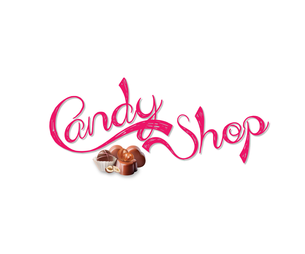 shop logo design for candy shop by buttergraphics design