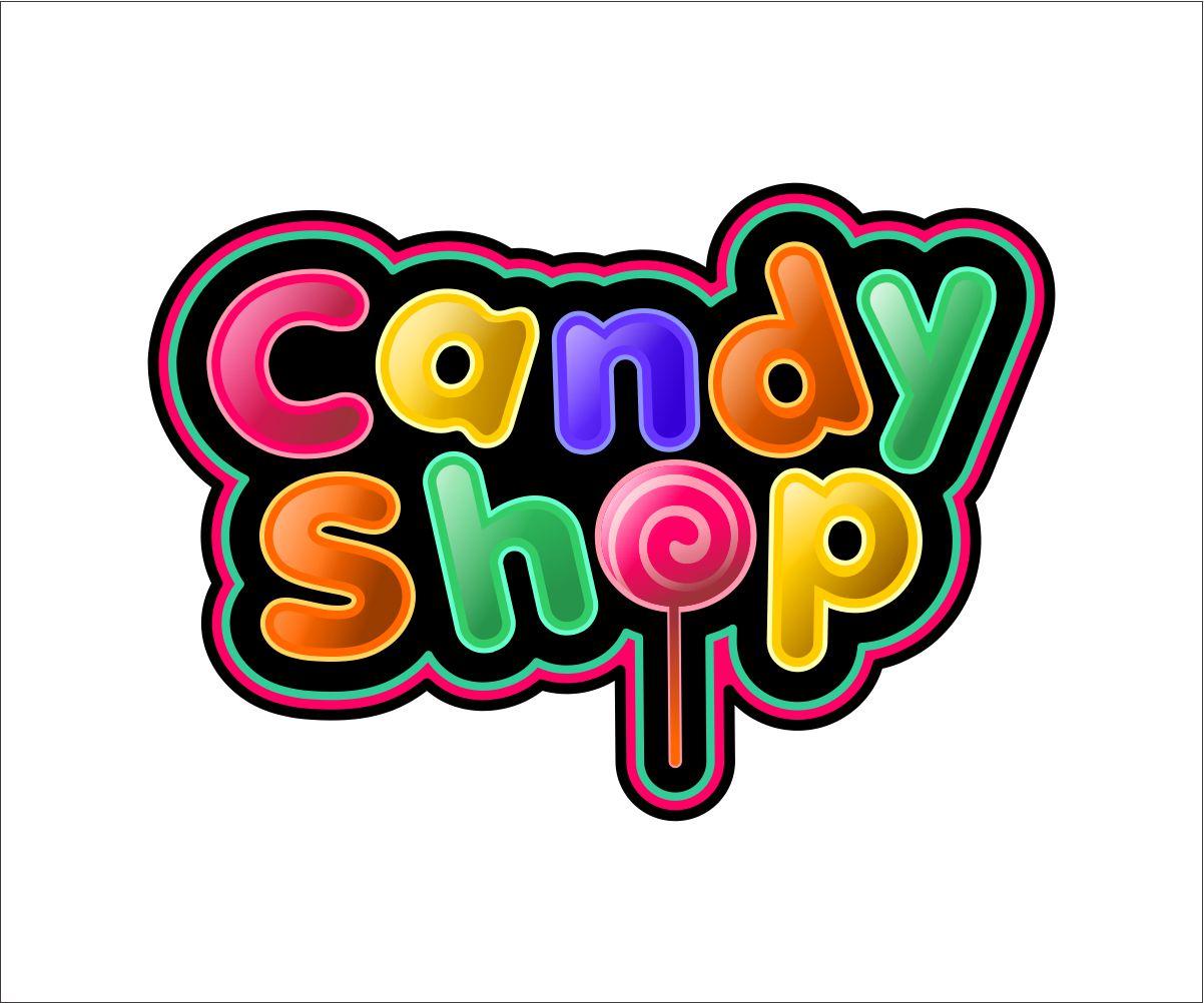 shop logo design for candy shop by itsemerrko design