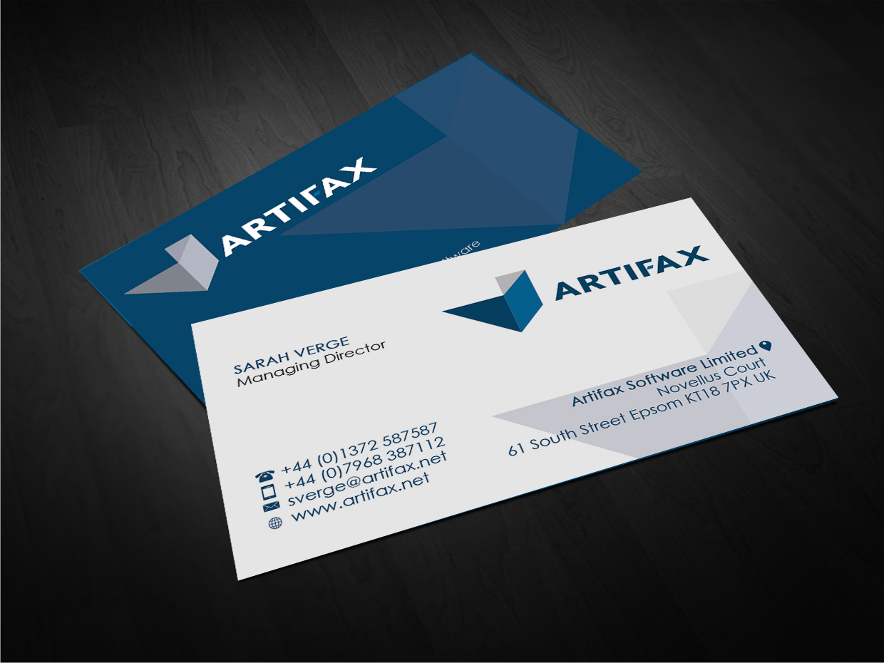 Software business card design for artifax software limited by gtools business card design by gtools for artifax software limited design 4917220 reheart Image collections