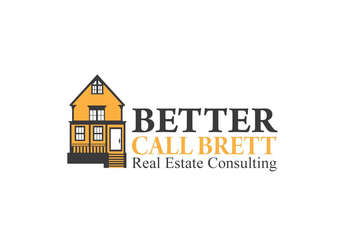 Modern, Playful Logo Design for Better Call Brett Realty by Black ...