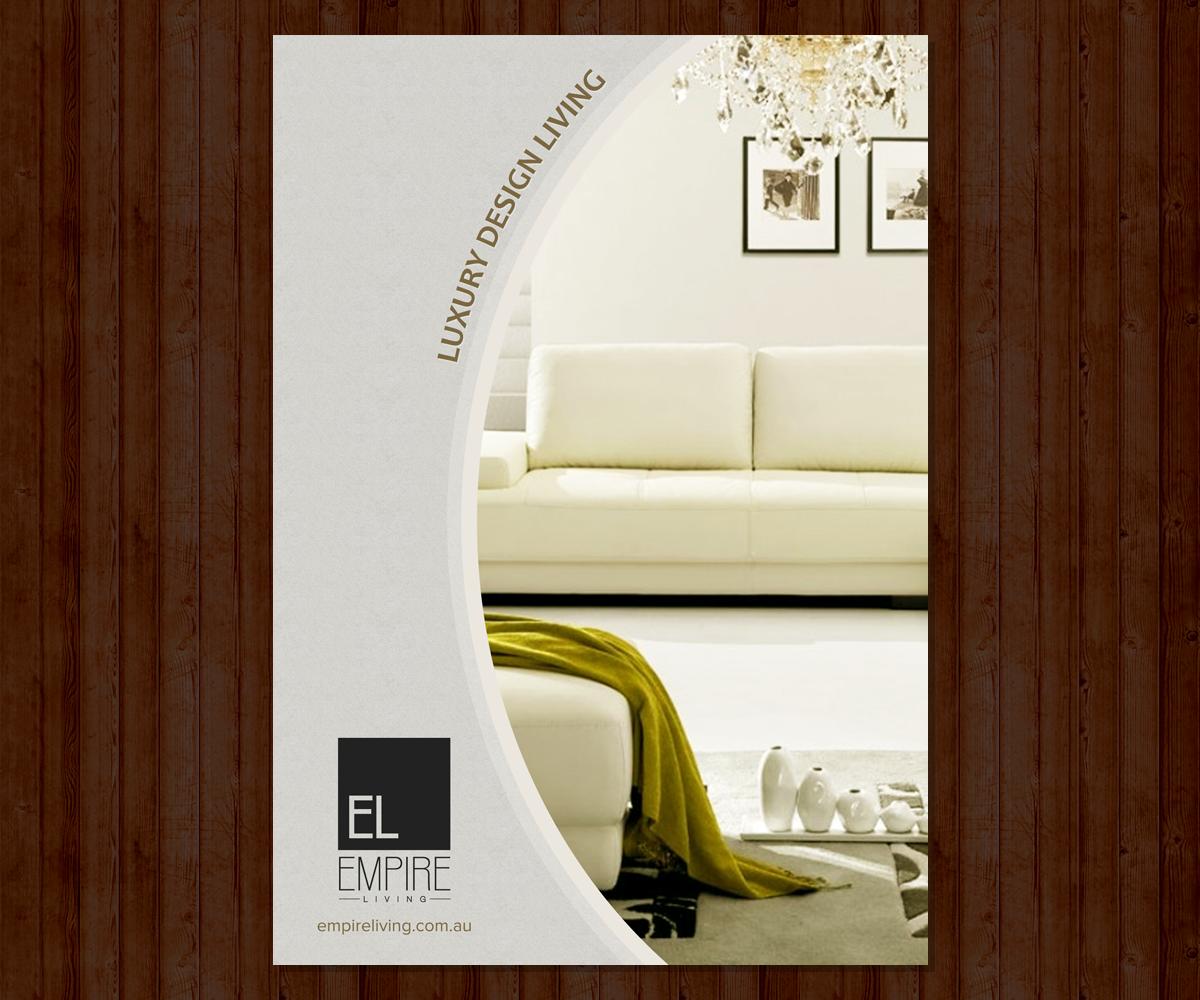 exklusiv elegant brochure design for jarred by multimedia actors design 4932550. Black Bedroom Furniture Sets. Home Design Ideas