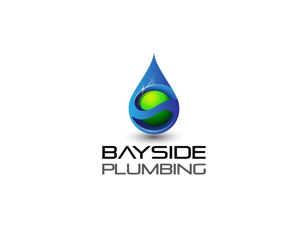 Modern professional plumbing logo design for bayside for Australian design firms