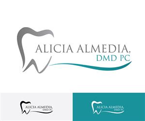 93 Professional Elegant Dental Logo Designs for Alicia C Almeida ...