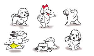 Illustration Design by ASC - Children's Book Character based on Family Dog