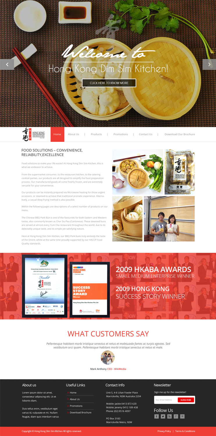 Web design for jeremy by ilibart design 4938493 Kitchen design companies hong kong