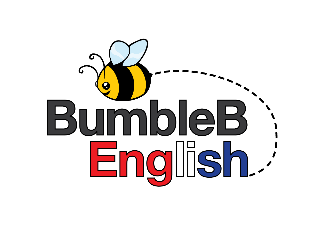 bumble bee english Logo by 	 FCJ_GRAPHICS