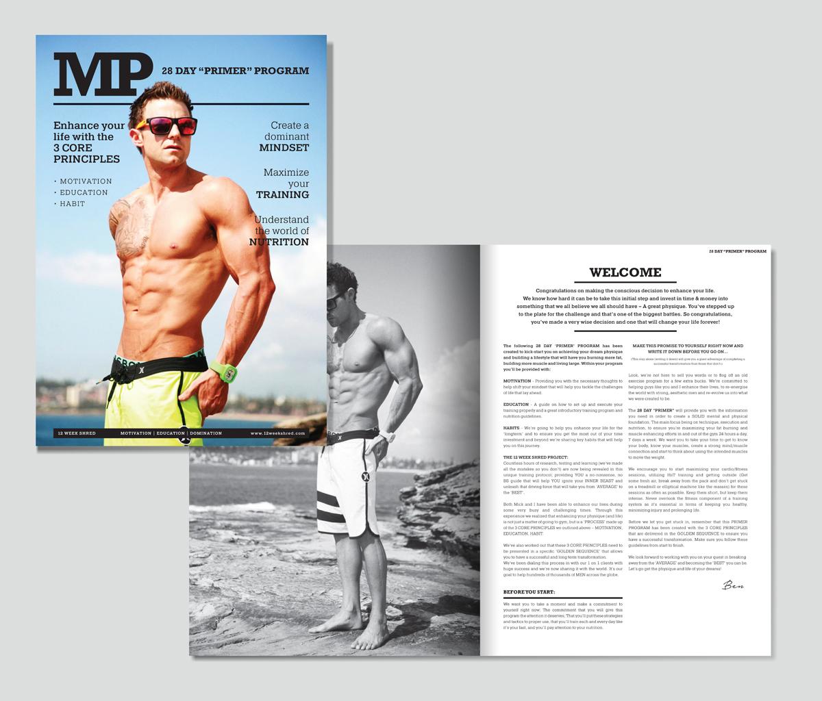Fitness Magazine Design for a Company by flinqe | Design
