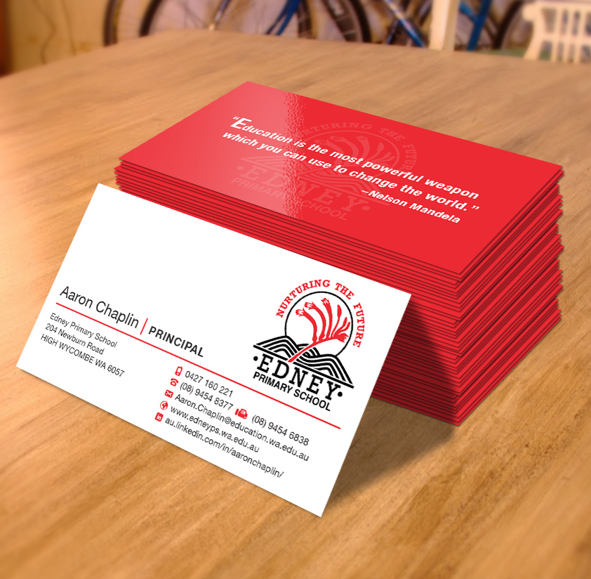 Bold, Modern, School Business Card Design for a Company by JAKUART ...