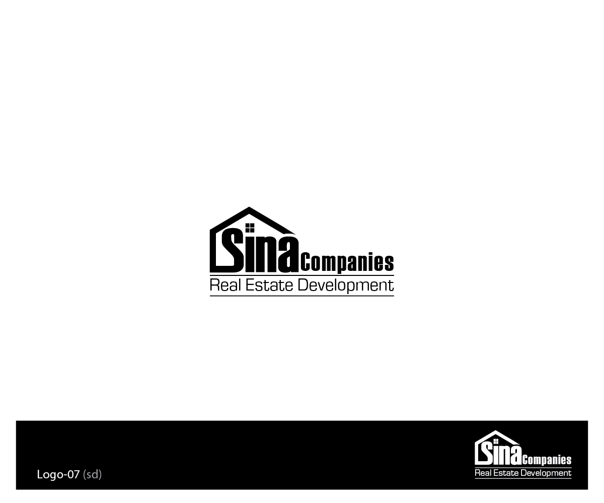 Real Estate Development Companies : Elegant playful real estate logo design for sina