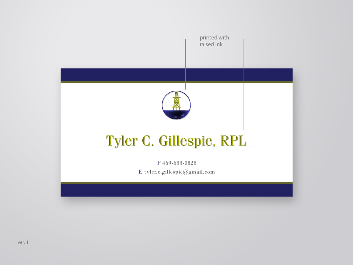 Masculine conservative business card design for tyler by goh business card design by goh for classic personal business card in polo ralph lauren style magicingreecefo Gallery