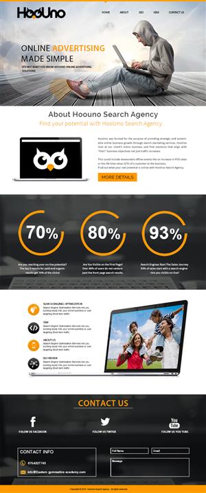 Wordpress Design by webxvision