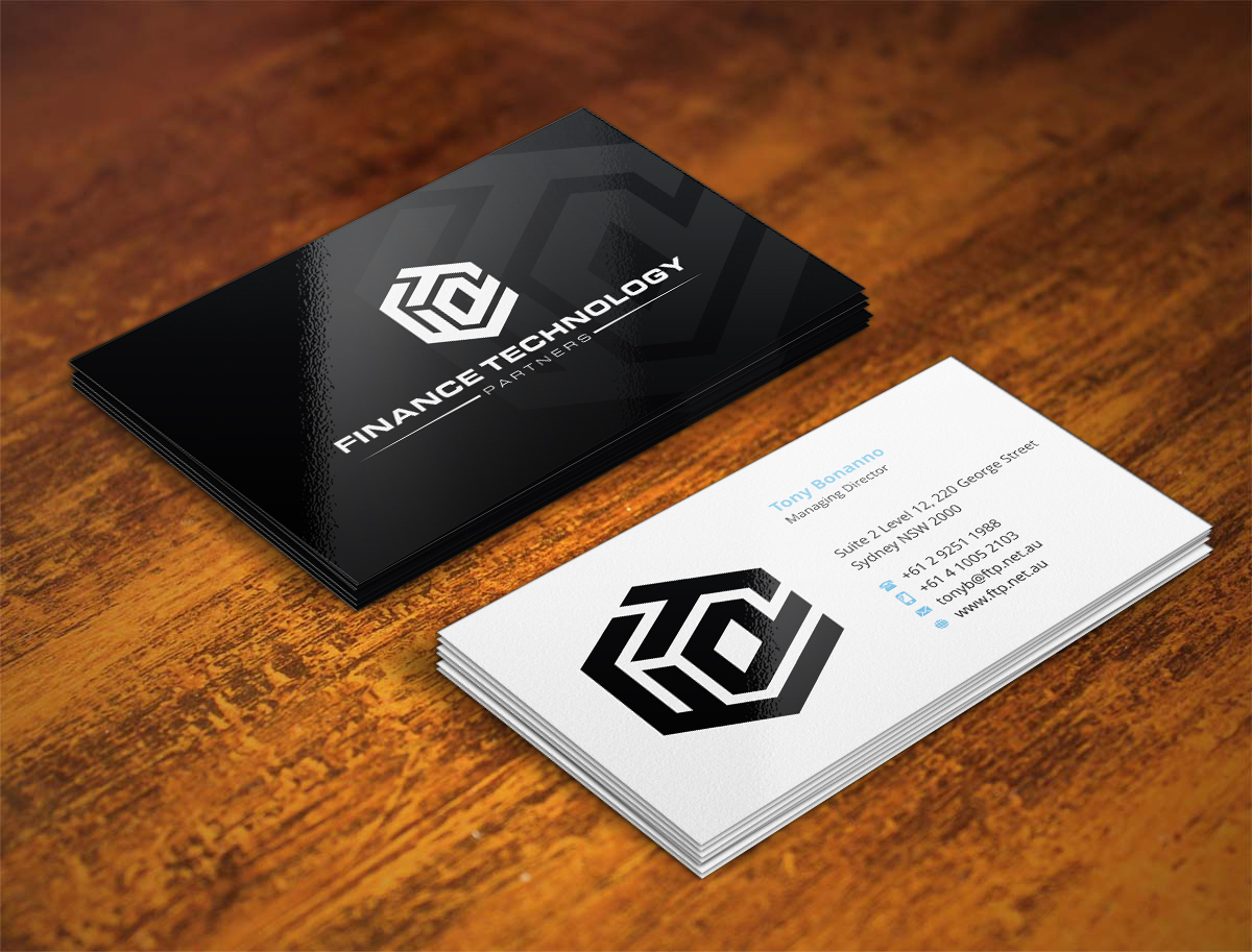 Software Business Card Design For A Company By Indianashok Design