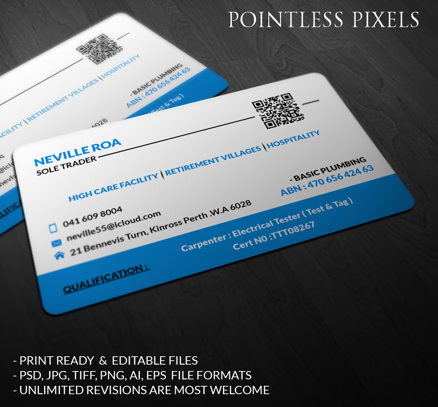 Electrical business card design for a company by pointless pixels business card design by pointless pixels india for this project design 4953906 colourmoves