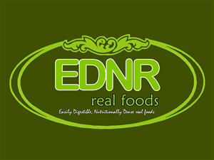 Logo Design for EDNR real foods by NIZAR P B