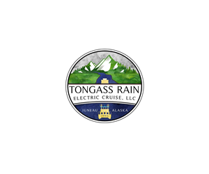 Logo Design by Cre8tiveN8tive - Tongass Rain Electric Cruise