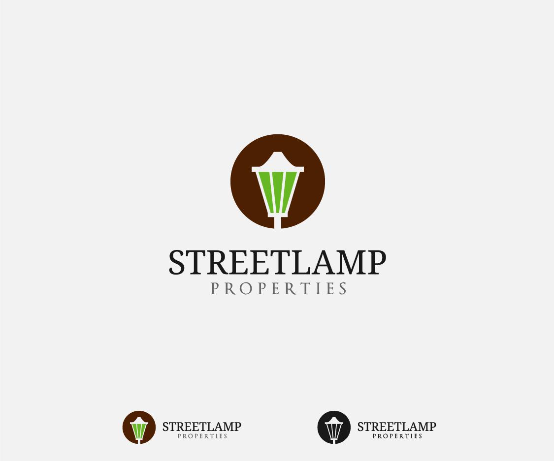 Upmarket, Elegant, Real Estate Logo Design for Streetlamp Properties ... for street lamp logo  45gtk