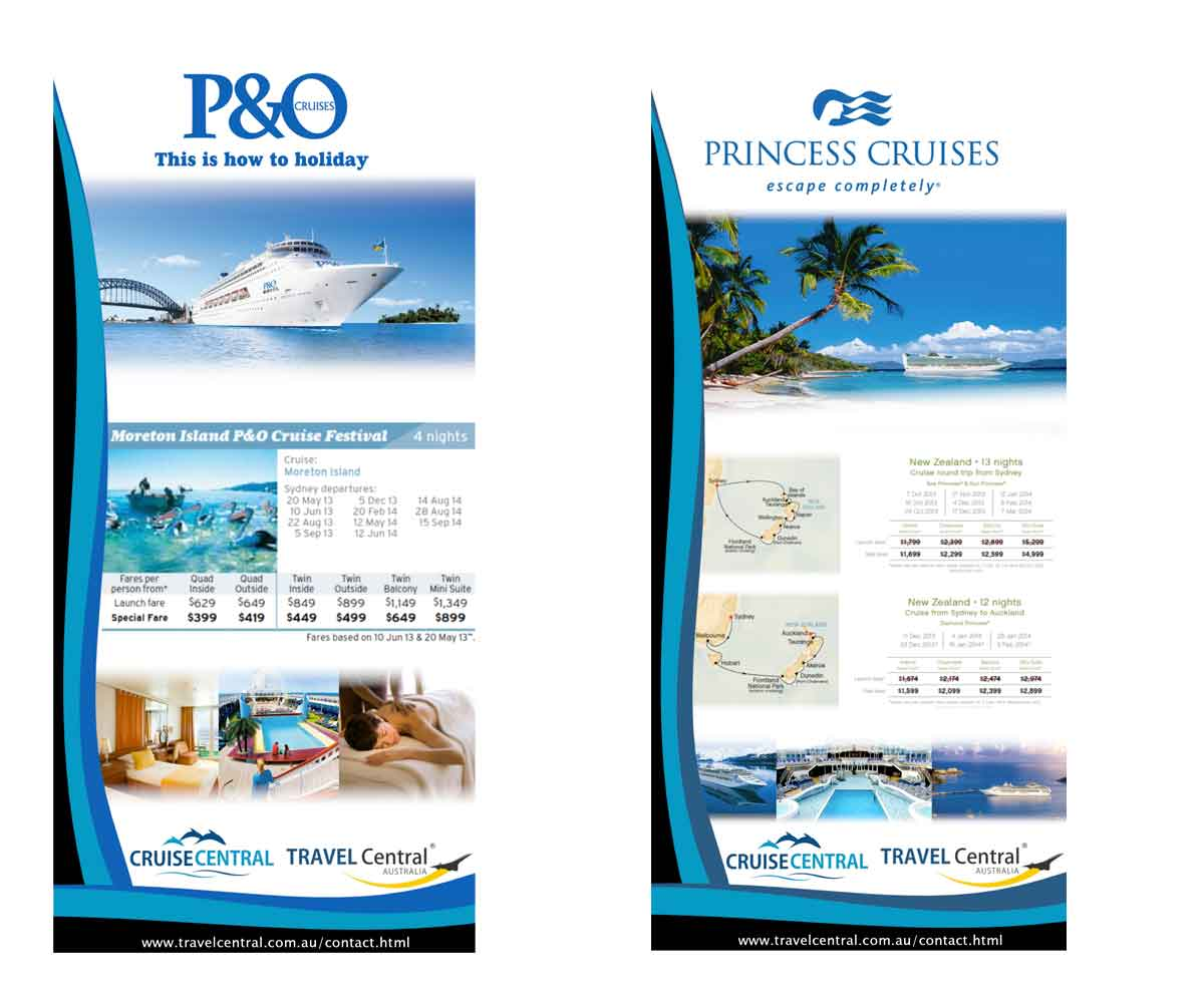 Elegant Playful Health Poster Design For A Company By: Elegant, Playful, Cruise Line Flyer Design For TRAVEL