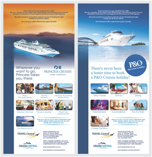 Flyer Design By Barinix For TRAVEL CENTRAL