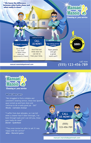 Cleaning Service Flyer Design Galleries for Inspiration