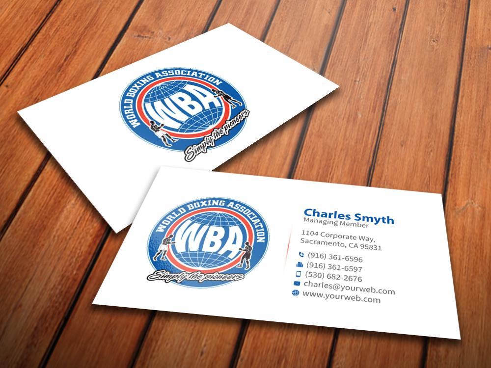 Upmarket, Modern, Business Business Card Design for World Boxing ...