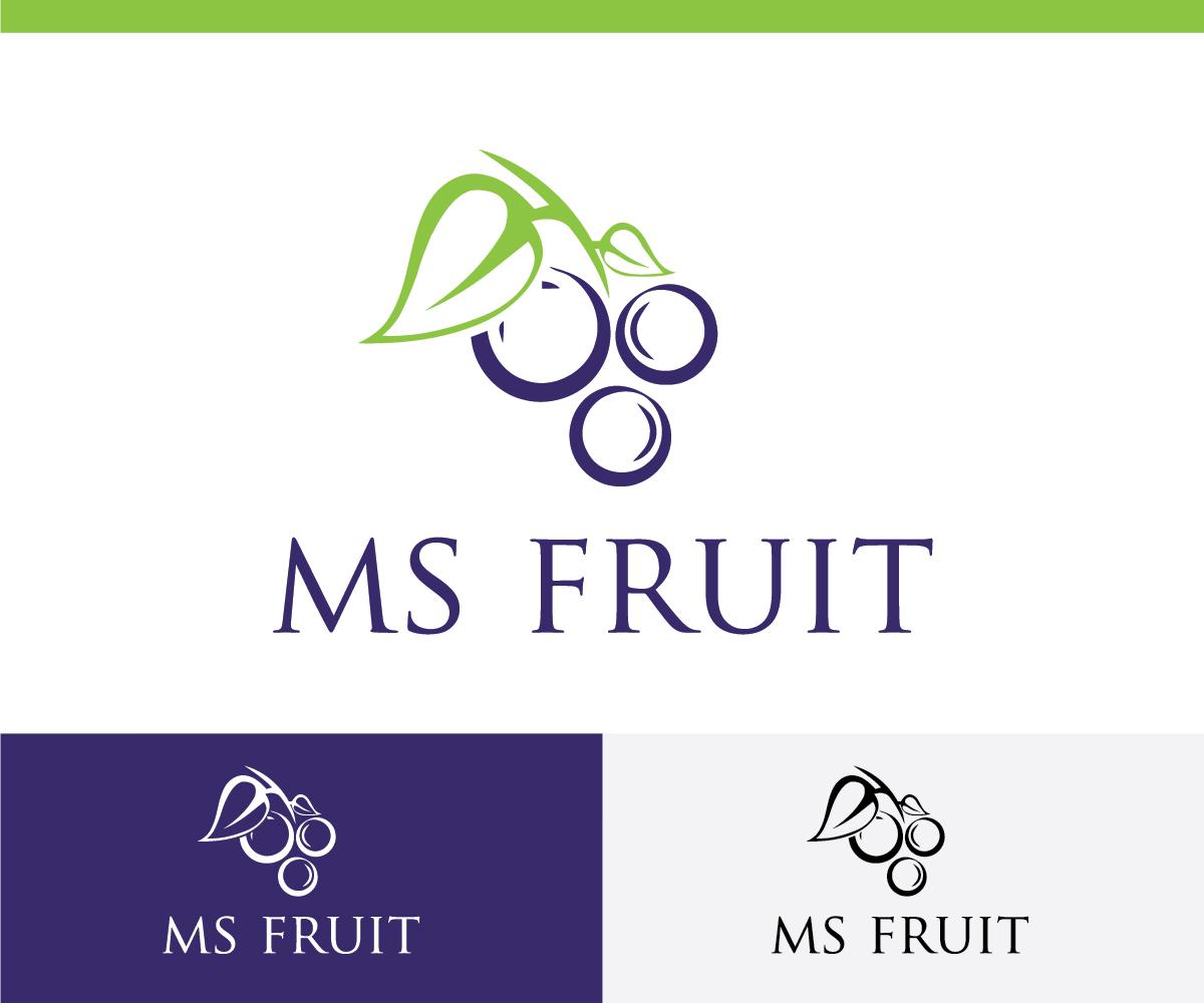 Distributor Logo Design for MS Fruit by JimmyNeutroN™ | Design #4967616