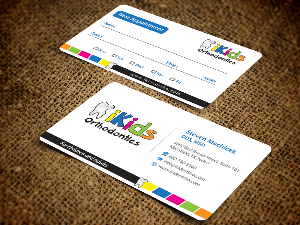 114 Business Card Designs   Dental Business Card Design Project for ...