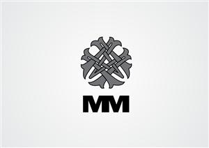Logo Design for MM Monogram logo Design by Baji Rahaman