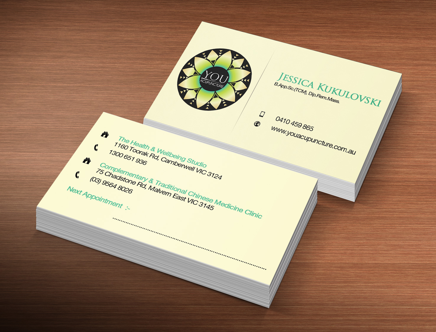 Bold, Serious, Clinic Business Card Design for a Company by Creation ...
