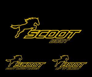 Logo Design by design.bb - Scoot Boot