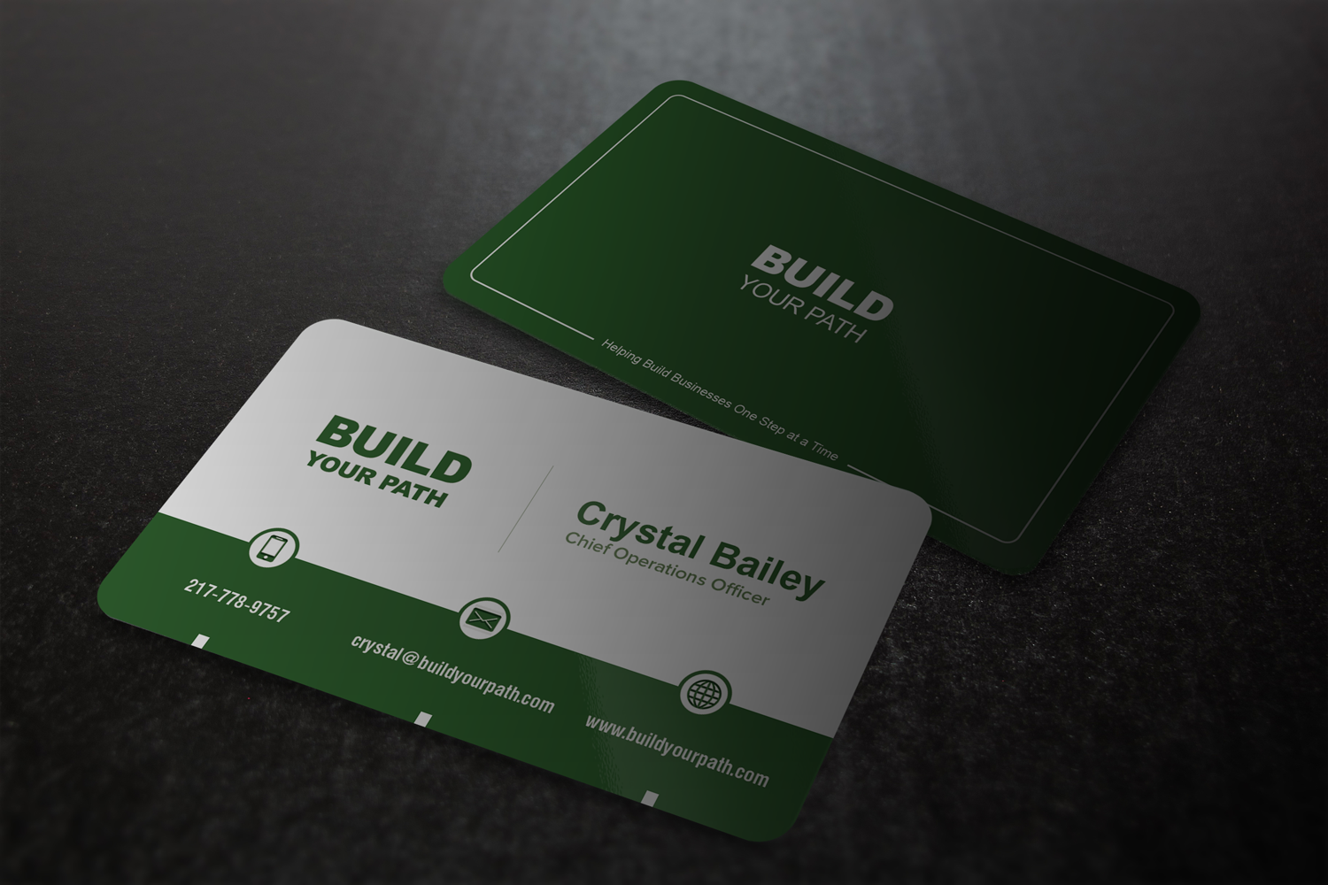 Marketing Business Card Design for Build Your Path Consulting by ...