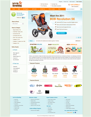 Dietician Website Design With Character 264018