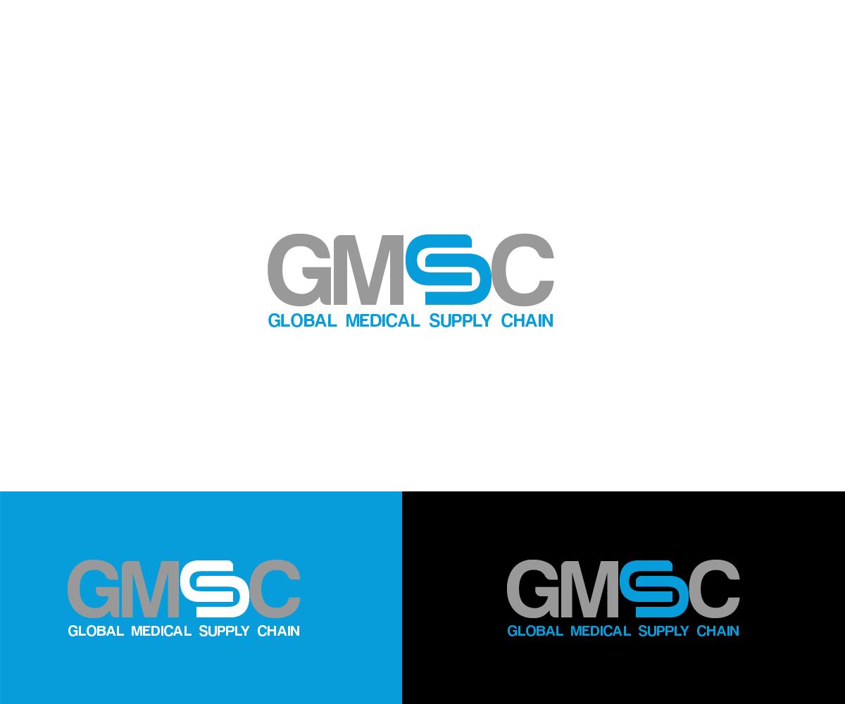 Medical Logo Design For Global Medical Supply Chain Or GMSC By