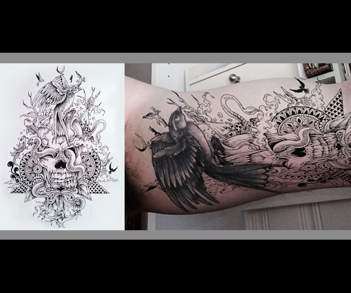 Conservative Traditional Tattoo Tattoo Design For A Company By