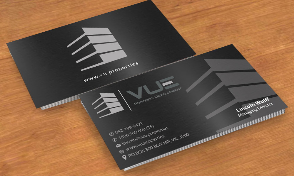 Business Card Design By Smart For Vue Property Development