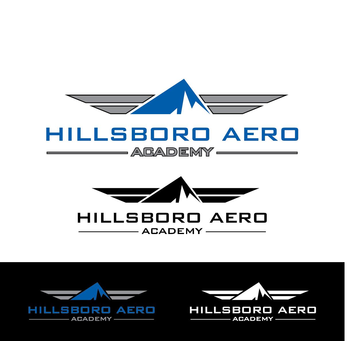 Hillsboro Aero Logo Wiring Diagrams Ogo Diagram Serious Masculine Training Design For Academy Rh Designcrowd Com Aviation Logos Eagles