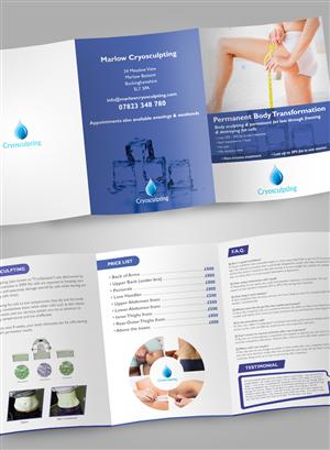 Brochure Design by Ryan - Marlow Cryosculpting Brochure