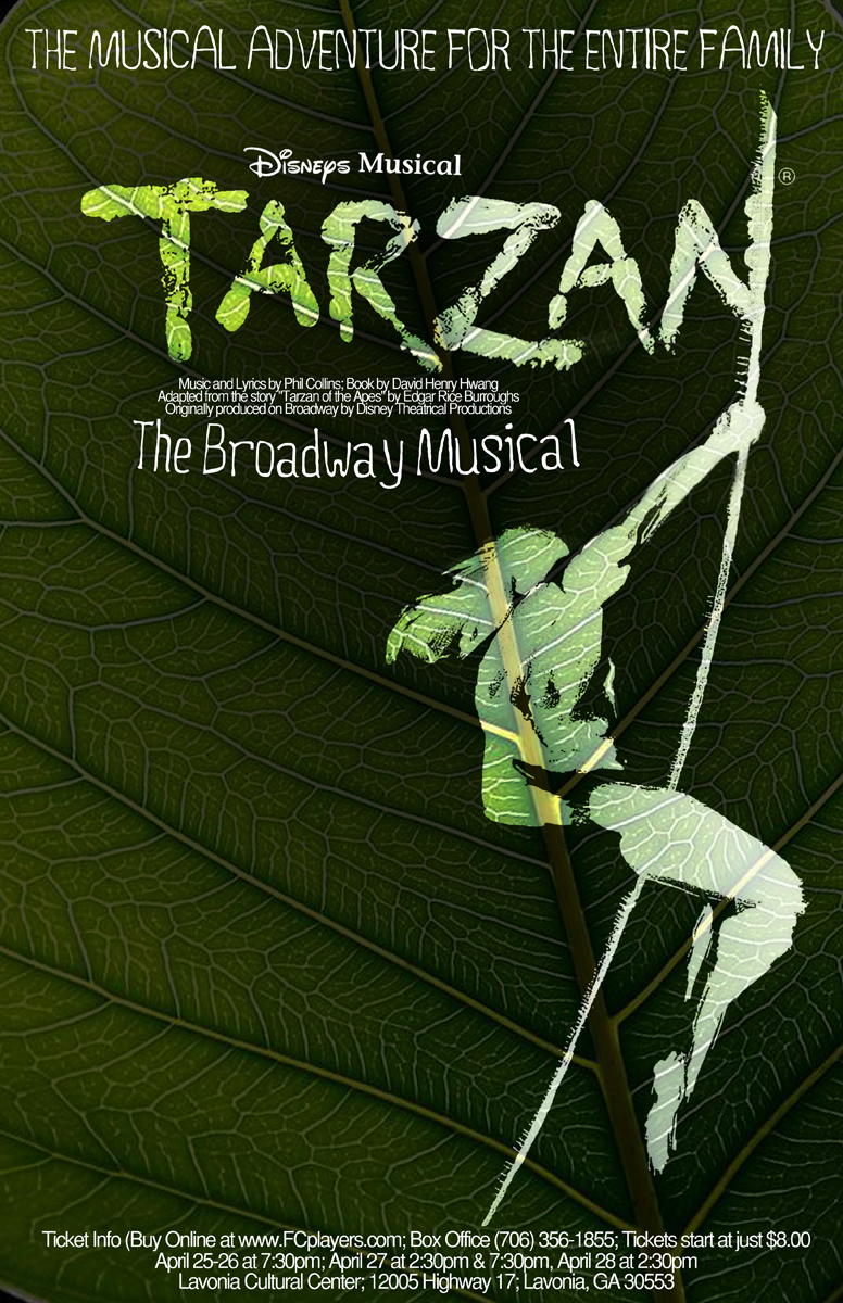 11x17 poster design - Flyer Design By Devonmcintire For Tarzan Musical 11x17 Poster Design 1436248