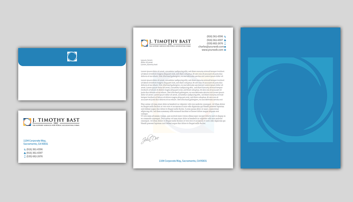 accounting letterhead design for halifax tax consultancy