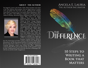 Book Cover Design by Mila@CreativeMotions - Clean book cover design for book about writing ...